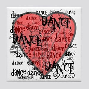 Funky Dance by DanceShirts.com Tile Coaster