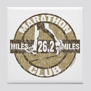 Marathon Club Tile Coaster