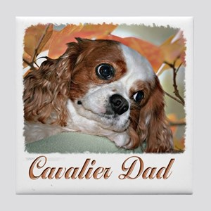 Cavalier Dad Tile Coaster