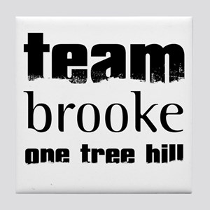Team Brooke - One Tree Hill Tile Coaster