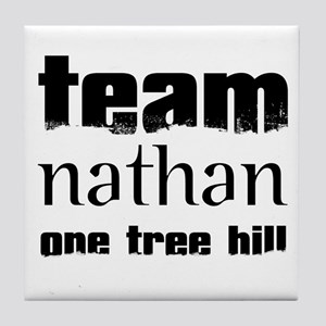 Team Nathan - One Tree Hill Tile Coaster