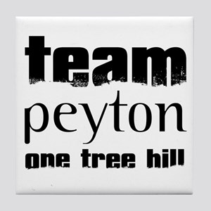 Team Peyton - One Tree Hill Tile Coaster