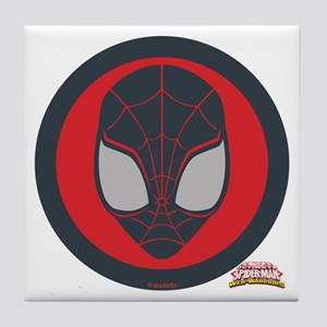 Ultimate Spider-Man Miles Morales Ico Tile Coaster