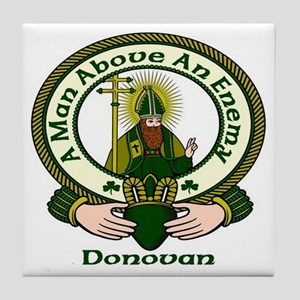 Donovan Clan Motto Ceramic Tile