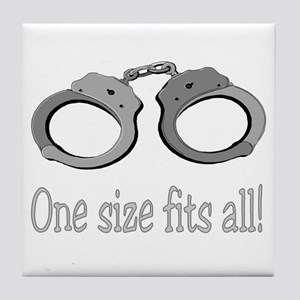 one size fits all Tile Coaster