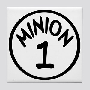 Minion 1 One Children Tile Coaster