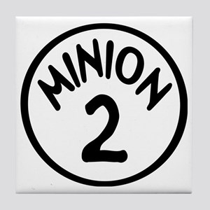 Minion 2 Two Children Tile Coaster
