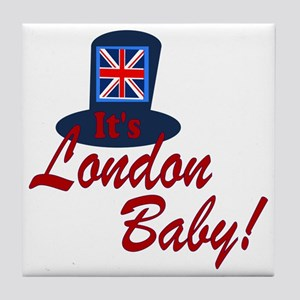 London Baby Tile Coaster
