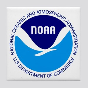NOAA Tile Coaster
