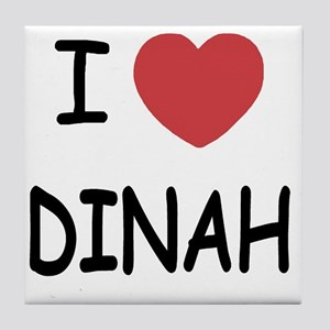 DINAH Tile Coaster
