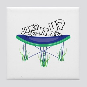 Jump It Up Tile Coaster