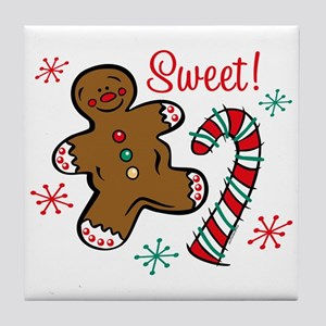 Christmas Sweet Tile Coaster