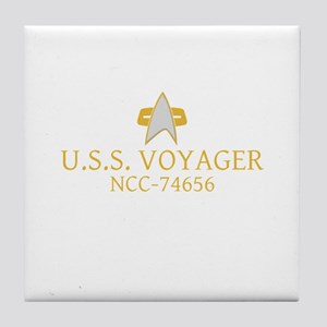 Star Trek: VOY Ship Name Tile Coaster