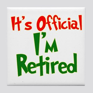 Funny Retirement Quotes Coasters - CafePress