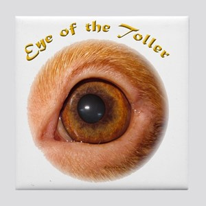 Eye of the Toller Tile Coaster