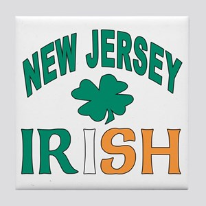 New jersey irish Tile Coaster