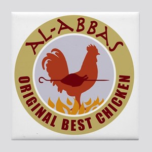 pal-chicken Tile Coaster