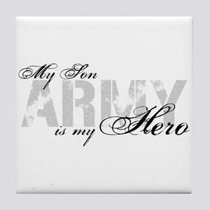 Son is my Hero ARMY Tile Coaster