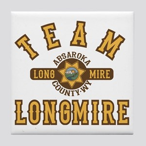 Team Longmire Tile Coaster