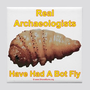 Real Archaeologists Have Had A Bot Fly Tile Coaste