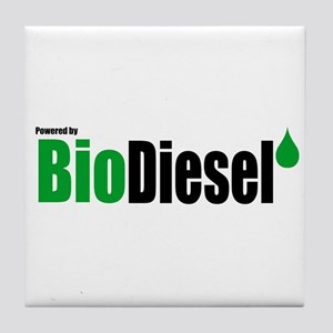 Powered By BioDiesel Tile Coaster