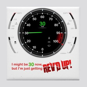 speedometer-30 Tile Coaster
