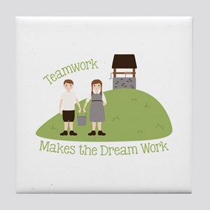 Teamwork Tile Coaster