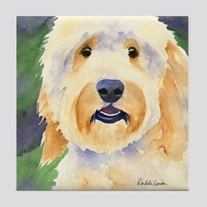 Goldendoodle Tile Coaster