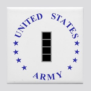 Army-10th-Mountain-Div-CW4 Tile Coaster