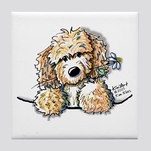 Bailey's Irish Crm Doodle Tile Coaster