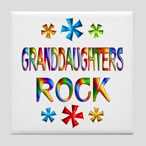 Granddaughter Tile Coaster