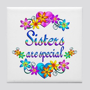Sisters are Special Tile Coaster
