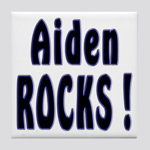 Aiden Rocks ! Tile Coaster