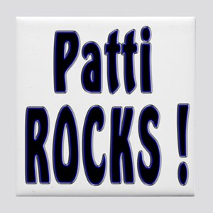 Patti Rocks ! Tile Coaster