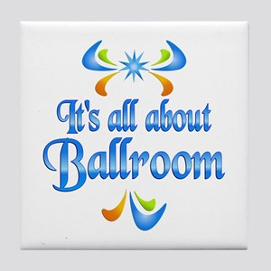 About Ballroom Tile Coaster