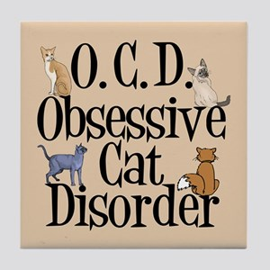 Cats Tile Coaster