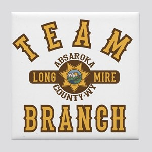 Longmire Team Branch Tile Coaster