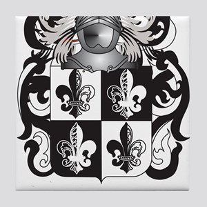 Nelson Coat of Arms (Family Crest) Tile Coaster