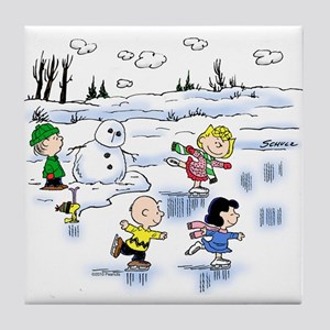 Snow Scene Tile Coaster