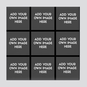 Add Your Own Images Collage Tile Coaster