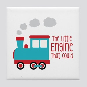 The Little Engine That Could Tile Coaster