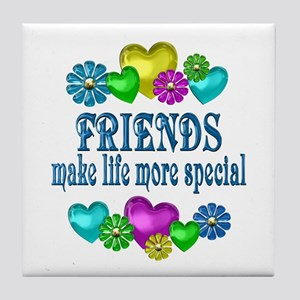 Friends More Special Tile Coaster