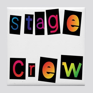 Stage Crew Tile Coaster