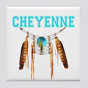 Proud to be Cheyenne Tile Coaster
