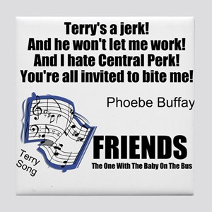 FriendsTV Song Tile Coaster