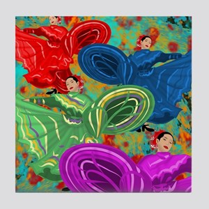 FIESTA DANCE Tile Coaster