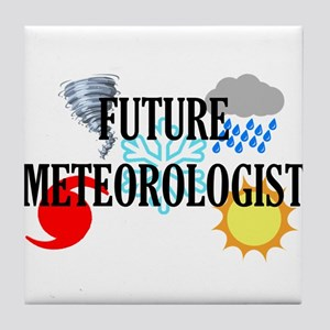 Future Meteorologist Tile Coaster