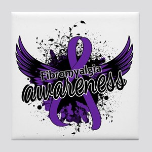 Fibromyalgia Awareness 16 Tile Coaster