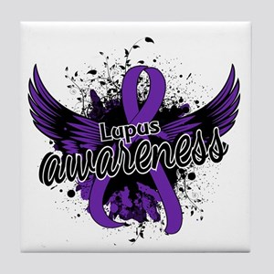Lupus Awareness 16 Tile Coaster