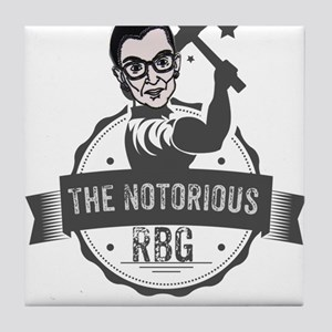 Ruth Bader Ginsburg Union Notorious R Tile Coaster